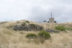 Ruins of Old Cape Jervis Whaling Station, Fleurieu Peninsula, So Royalty Free Stock Photography
