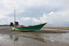 Fishery boat Stock Images