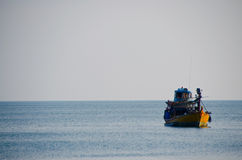 fishery boat Royalty Free Stock Photo