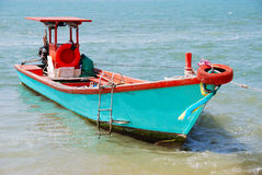 Fishery boat in Thailand. Royalty Free Stock Image