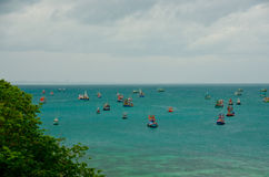 Fishery boats Stock Image