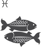 Fishes. Signs of the zodiac - Fishes vector illustration
