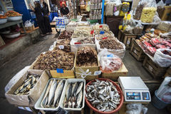 Fishes in Marketplace. Fishes in the market in center of Bangkok Royalty Free Stock Photos