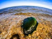 fisheye的波罗的海 免版税库存照片