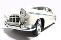 Fisheye 1956 dell'automobile del giocattolo della scala del metallo della Chrysler 300B Fotografie Stock Libere da Diritti