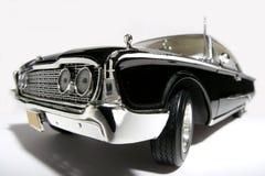 Fisheye 1960 del coche del juguete de la escala del metal de Ford Starliner Imágenes de archivo libres de regalías