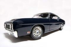 Fisheye 1969 dell'automobile del giocattolo della scala del metallo del Ford Torino Talladega Immagine Stock Libera da Diritti