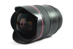 объектив fisheye изолированный изображением Стоковая Фотография