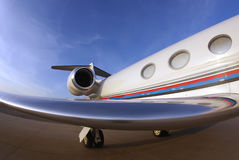 Fisheye Biz-jet Royalty Free Stock Photo