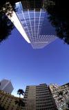 Fisheye Buildings Stock Images