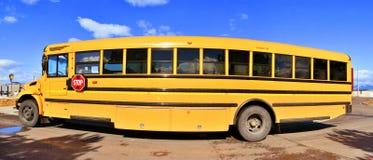 Fisheye buss Arkivbilder