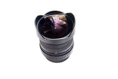 Fisheye lens Royalty Free Stock Photo