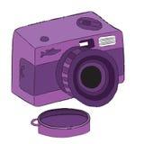 Fisheye lomocamera Stock Images