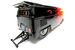 Fisheye personalizzato #3 dell'automobile della scala del bus di resistenza di VW Fotografie Stock Libere da Diritti