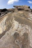 fisheye skały fotografia stock