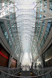 Fisheye view of BCE Place Royalty Free Stock Image