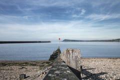 ?????? ????? ???? ??? ??? ????? Fishguard ???? ??????, UK στοκ εικόνες με δικαίωμα ελεύθερης χρήσης