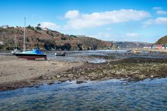 Fishguard in Wales Stock Afbeeldingen