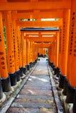 Fishimi Inari Taisha, Kyoto, Giappone fotografie stock