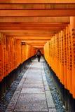 Fishimi Inari Taisha, Kyoto, Giappone fotografia stock