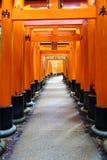 Fishimi Inari Taisha, Kyoto, Japonia Obrazy Stock
