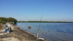 Fishin andato Fotografia Stock Libera da Diritti