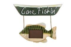 Fishin andato fotografie stock libere da diritti