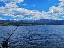 Fishin e Chillin Foto de Stock Royalty Free