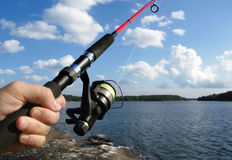 Fishing Royalty Free Stock Image
