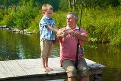 During fishing Stock Photos