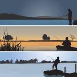 Fishing royalty free illustration