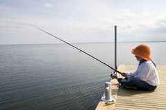 Fishing Royalty Free Stock Photos
