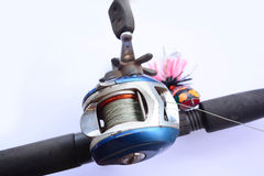 Fishing accessories Royalty Free Stock Photo