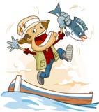 Fishing activity Royalty Free Stock Image