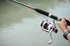 Fishing activity Royalty Free Stock Photography