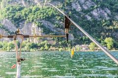 Fishing adventures Stock Image