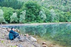Fishing adventures Royalty Free Stock Image