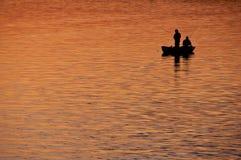 Free Fishing At Sunset Royalty Free Stock Photos - 16534688