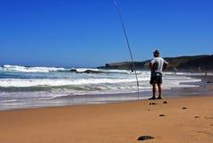 Fishing in the Atlantic Ocean Royalty Free Stock Images