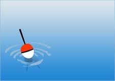 Fishing background Stock Photography
