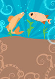 Fishing background. Fishing poster or flyer background with space Royalty Free Stock Image