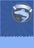 Fishing background Royalty Free Stock Image