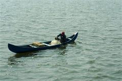 Fishing at backwaters- Kerala Royalty Free Stock Photos