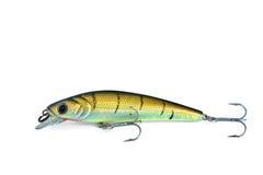 Fishing Bait. Colorful Fishing Bait on White background Stock Images