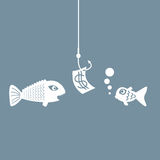 Fishing bait. Royalty Free Stock Photos