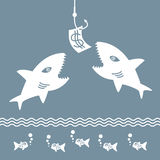 Fishing bait. Royalty Free Stock Image