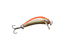 Fishing bait wobbler. Royalty Free Stock Photography
