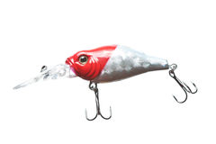 Fishing bait wobbler. Royalty Free Stock Image