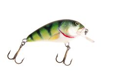 Fishing bait wobbler Royalty Free Stock Image