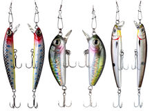Fishing baits. Stock Photography